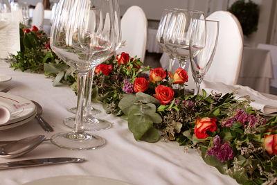 mesa flores boda