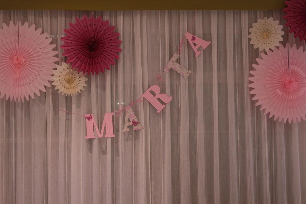 Abanicos de papel decoración restaurante