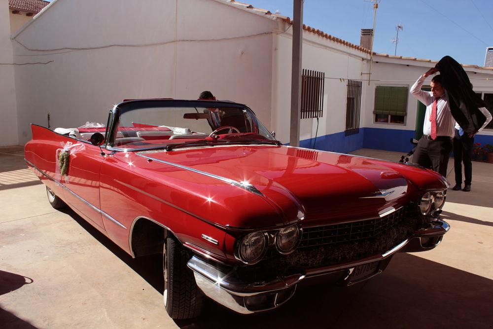 Coche de novios Cadillac