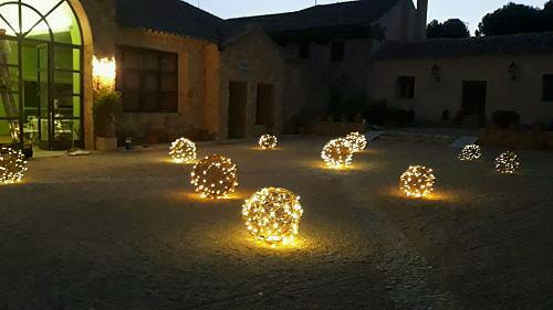 Luces esferas boda luz