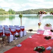Boda en Entrelagos en las Lagunas de Ruidera