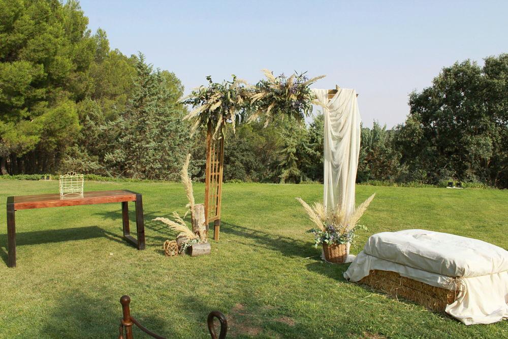 Arco boda boho